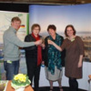 Rencontre sur le stand de l'Agence du Tourisme de l'Est de la Belgique