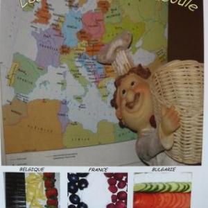 Les recettes belges, francaises et bulgares de Bouboule