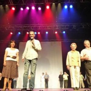 Gala de danse 2009 au Casino de Spa  Repetition stressante pour les Aines ( Photo : O. Delvigne )