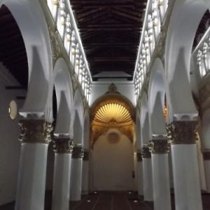Tolède  ( Espagne )    Sinagoga de Santa Maria la Blanca
