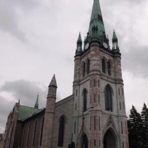 Architecture de Trois - Rivieres ( la cathedrale )