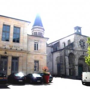 L' Abbatiale de Nantua ( Photo de F. Detry )
