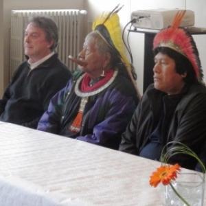JP Dutilleux et la delegation amazonienne