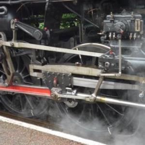 Les roues de la locomotive 29.013
