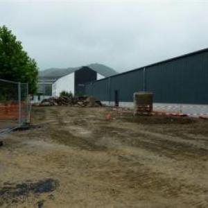 Etat des travaux en date du 18.08.2011 ( Photo J. Blavier )