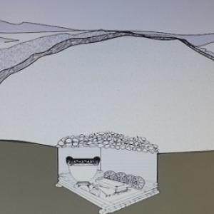 Le tumulus sous la colline