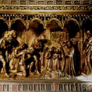 La basilique du Val Dieu Adoration des bergers