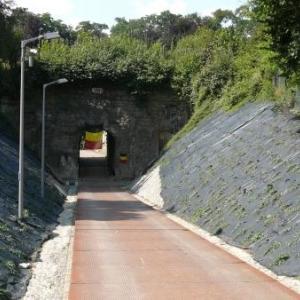 Entree du fort de Loncin ( la poterne )