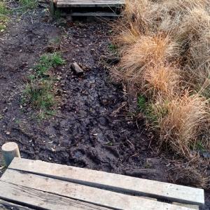 Des caillebottis détruits lors d'une tempête