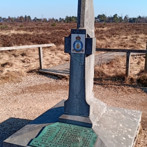 Le mémorial aux pilotes de la RAF abattus le 22-04-1944