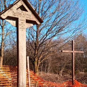 La croix Maurice POTTIER, peintre de nos fagnes