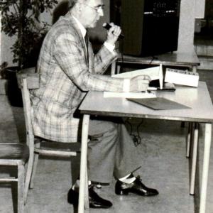 Joseph Leenaerts évoque sa carrière à la Fête de l'Amicale de 1990