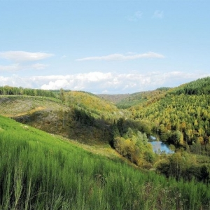 La verte vallée de Laclaireau. © JEAN CLESSE