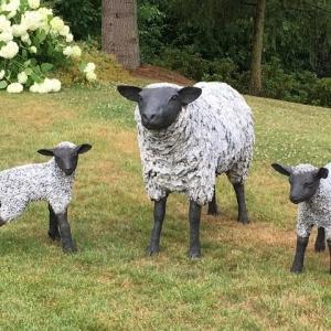 Sculptures au jardin