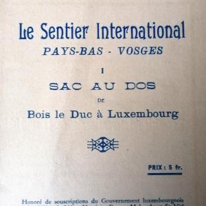 Le sentier international