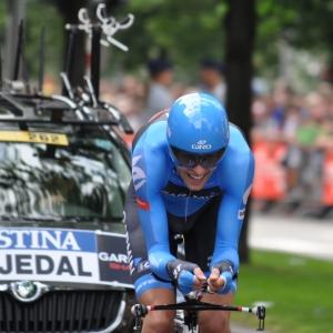 Ryder hesjedal, vainqueur sortant du dernier Giro.