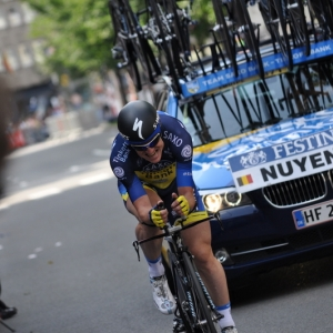 L ancien vainqueur du tour des flandres, Nick Nuyens.