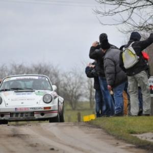 Pascal Gaban a assure le show avec la Porsche 911
