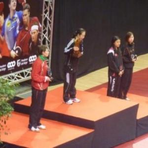 Podium dames ( Pavlovich, Jiao Li , Hu Melek, Jie Li)