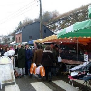 Lierneux - 1er décembre 2008 - Foire de la Saint - André.