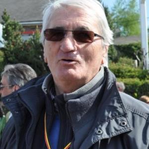 Georges Sauvage. Très satisfait du passage a Lierneux, sa terre natale.