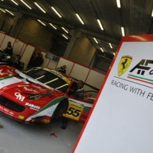 AF Corse avait engage 2 voitures ce week end a Spa