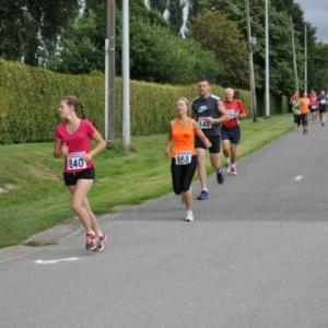 Lierneux. Jogging de la Haute-Lienne et mérite sportif.