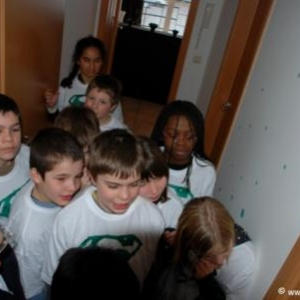 Les enfants du CCE en tournage ce samedi 20 mars