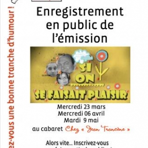 affiche enregistrements