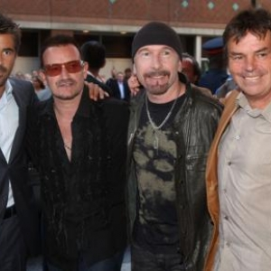Colin Farrell, Bono, The Edge et Neil Jordan