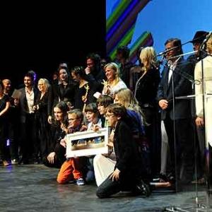 Les laureats et les remettants de cette edition 2013 du Festival Copyright Simon Van Cauteren