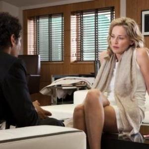 Tomer Sisley et Sharon Stone