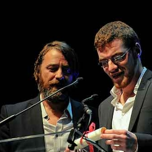 Wim Willaert et Pablo Munoz Gomez, acteur et realisateur de Welkom Copyright FIFFNamur