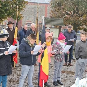 Devoir de Memoire pour les eleves de l'ecole Saint-Pierre, a Willerzie