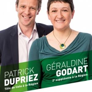 Geraldine Godart et Patrick Dupriez