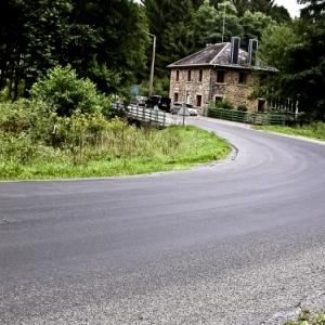Tout est fait pour securiser la route Hargnies - Willerzie ! (Avant)