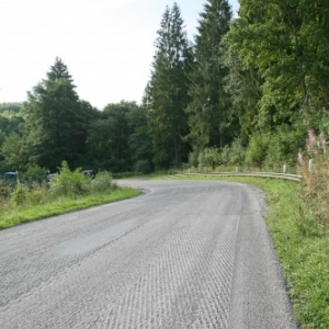 Tout est fait pour securiser la route Hargnies - Willerzie !