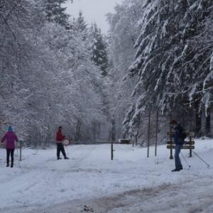 Skier a Gedinne (photo syndicat initiative)