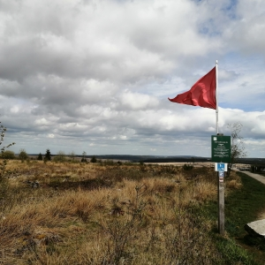 Hautes Fagnes drapeau rouge