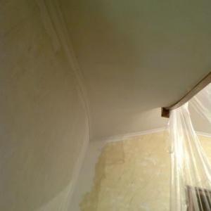 Plafond rez vers 1er etage.