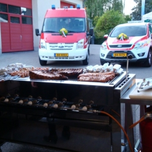 GRILLADE 25ANS PROTECTION CIVILE TROISVIERGES