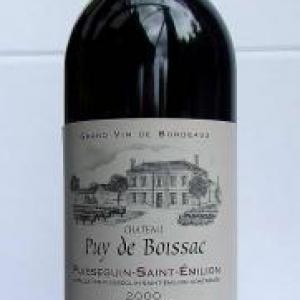 10- Chateau Puy de Boissac Puisseguin St Emilion 2000