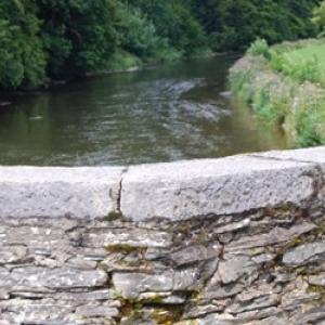 7 La Semois vue du pont de Cordemois