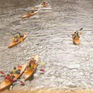 2 Differents kayaks sur la Semois