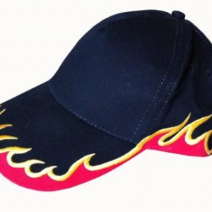 casquette tuning flammes