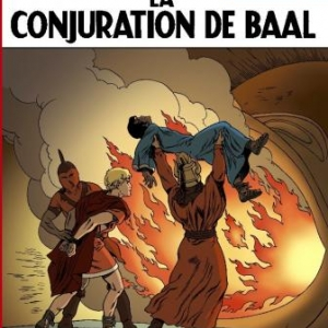 Alix T30  La Conjuration de Baal de M. Lafon, Ch. Simon et J. Martin  Casterman.