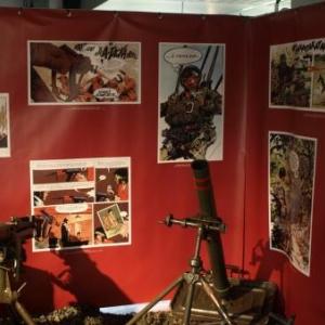 Les BD Attaquent à l'Aube… - Musée Royal de l'Armée à Bruxelles.
