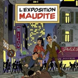 Une Aventure de Simon Nian (T3) - L'Exposition Maudite de F. Corteggiani & Y. Rodier - Glénat.