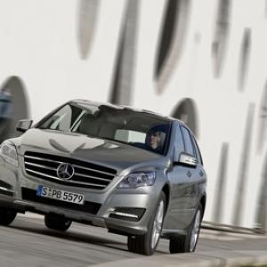 Découverte gastronomique avec la complicité de la Mercedes Classe R.