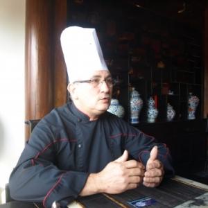 Pairi Daiza,le chef Eric Bigonville